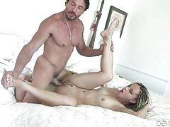 Young Sweetie Enjoys Step Dad`s Thick Dick 3