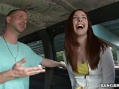Redhead does some anal. Melody Jordan