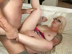 Turned On Guy Assfucks His Wife`s Mother 1