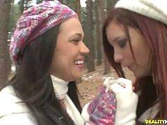 Not only are these girls best friends, but they all live together and share everything. They even go out in public and pick up other girls to bring back to the apartment and fuck. Its an ultra hot amateur lesbian site featuring three horny girls that love