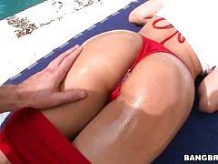 Ass parade - Abella Anderson fucked ANAL