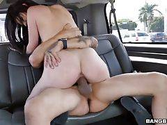 She gets banged on multiple positions until the guy cums all over her face.