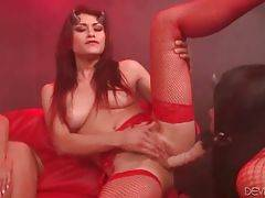 Lovely Whores Perform Great Lesbian Scene 2